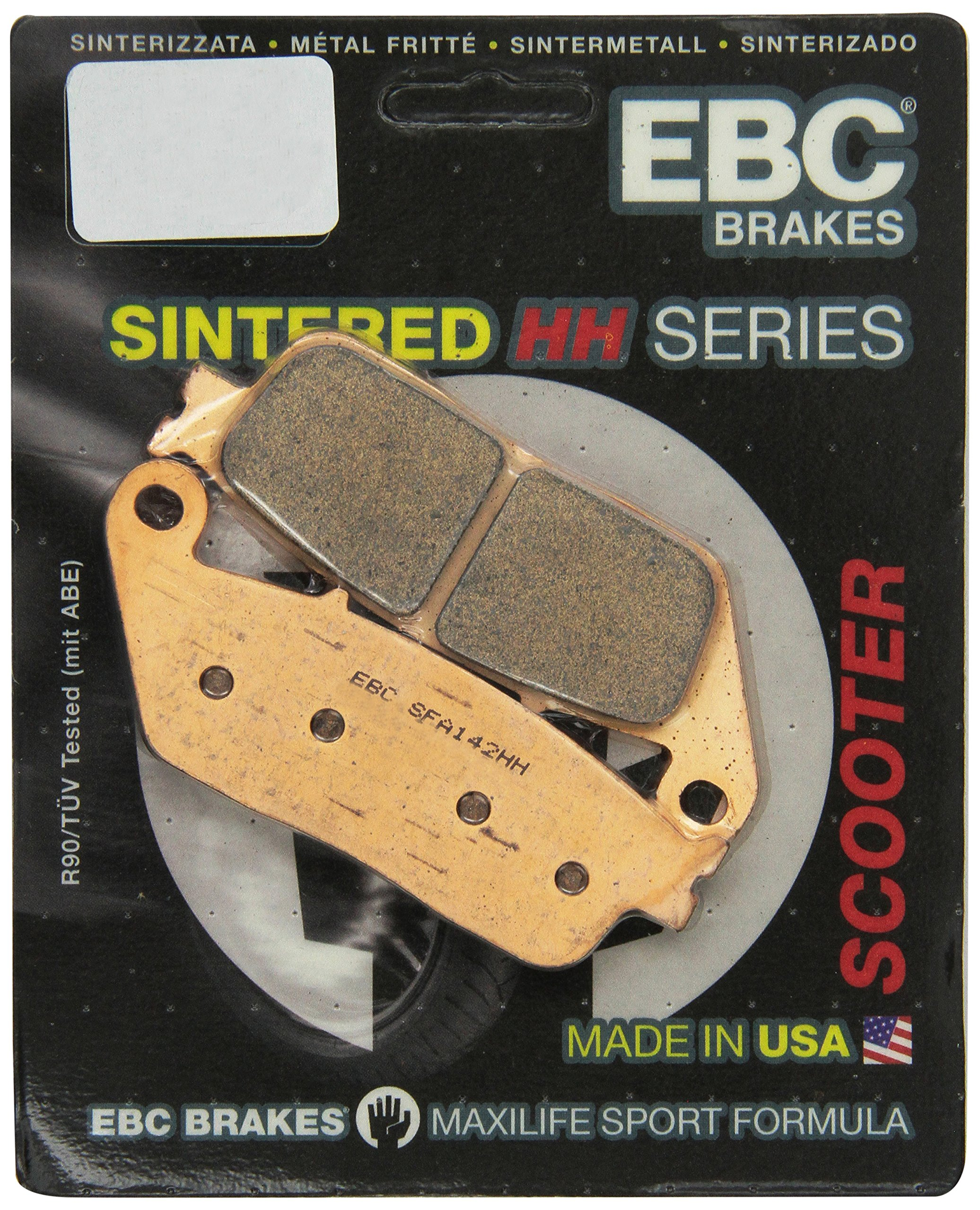 EBC Brakes SFA142HH Sintered Scooter Brake Pad