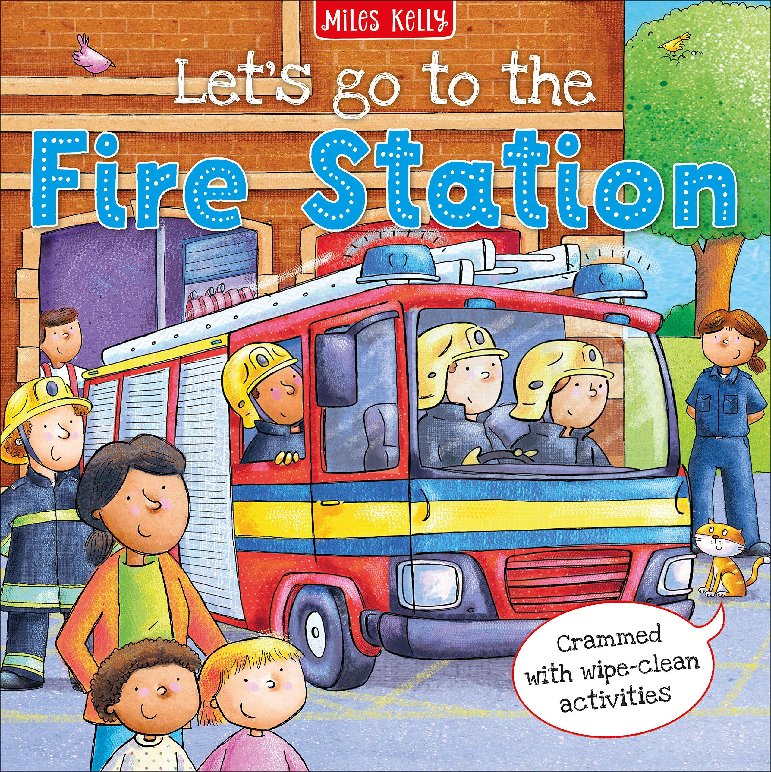 Let S Go To The Fire Station Philip Claire 9781786177803 Amazon Com Books