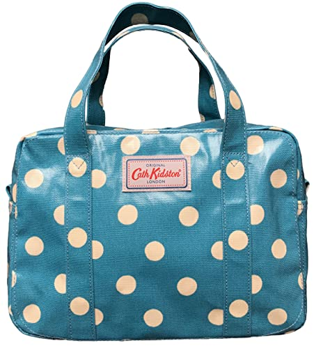 26d4d00664f91 Cath Kidston oilcloth mini zip bag spot soft teal: Amazon.co.uk ...
