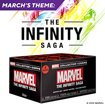 Image result for marvel collector corps infinity saga