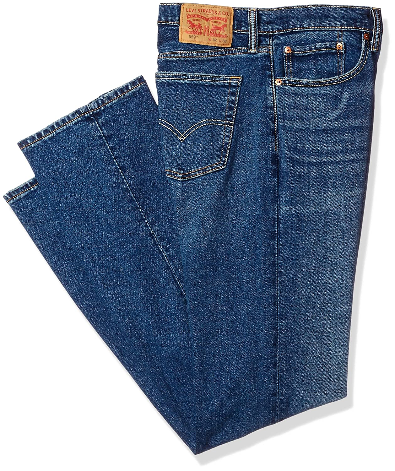 8251f7761cc Levi\'s 559 Relaxed Straight is made for guys who like to be comfortable.  Sits below the waist, has extra room through the thigh with a straight leg.