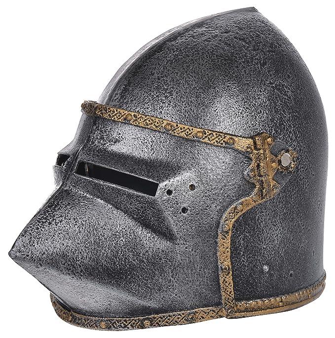 Knightware - Riproduzione di elmo da cavaliere medievale, per ...