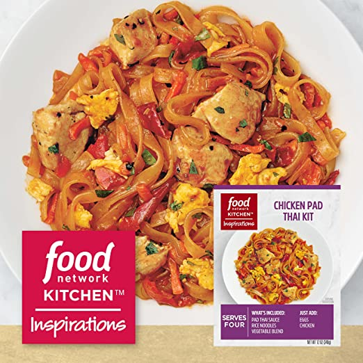 Amazon Food Network Kitchen Inspirations Chicken Pad Thai Meal