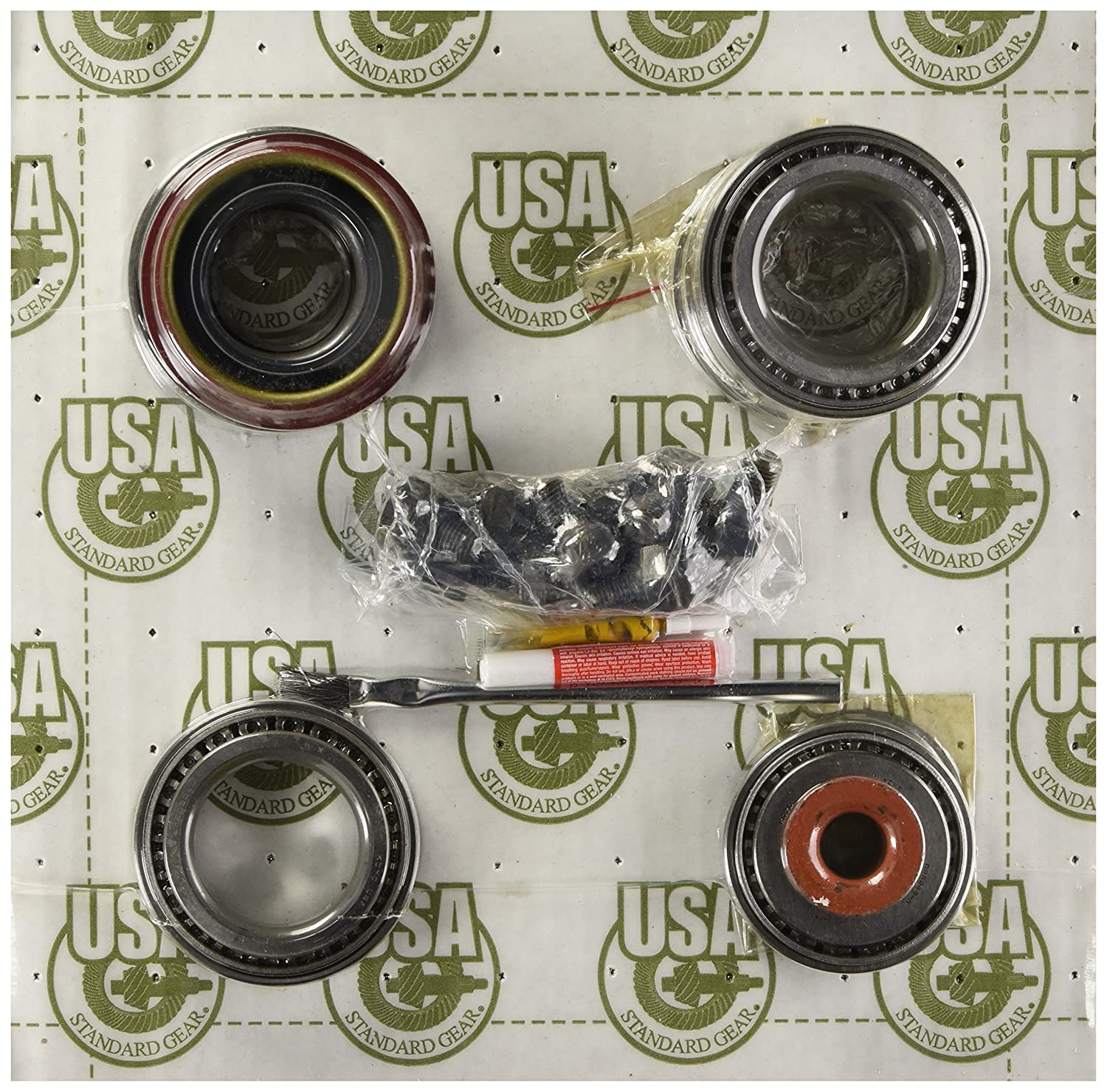 ZK F8.8-B Master Overhaul Kit for Ford F150//Mustang Differential USA Standard Gear