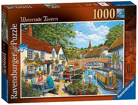 Ravensburger Waterside Tavern, 1000pc Jigsaw Puzzles
