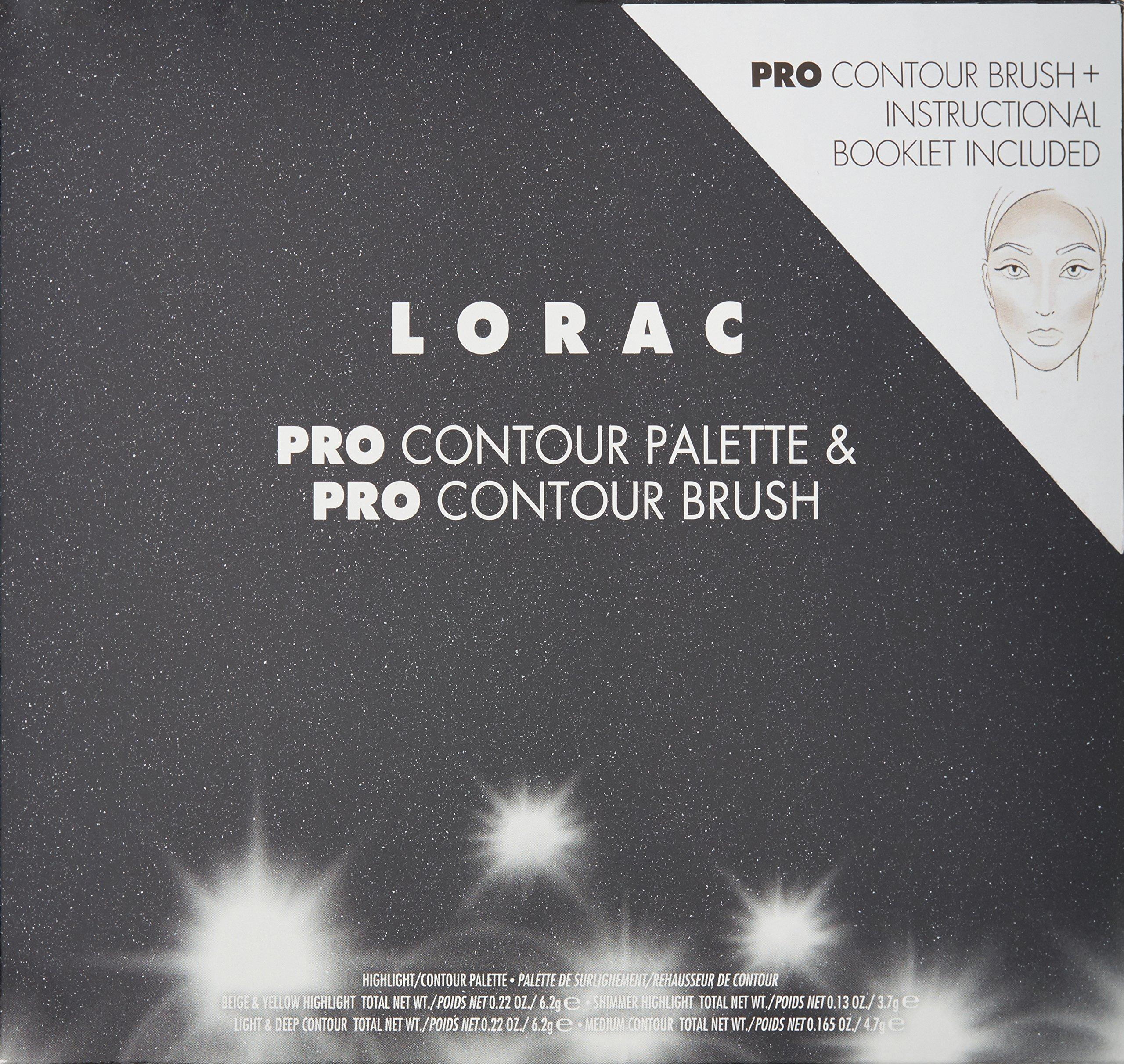 LORAC Pro Contour Palette Plus Contour Brush by LORAC (Image #5)