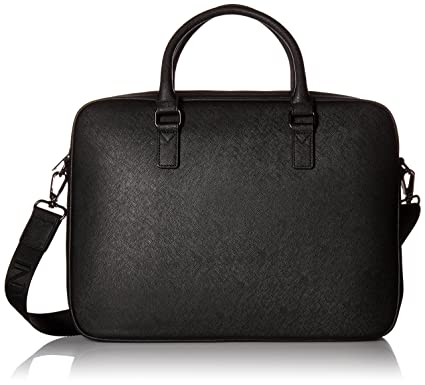 6505168487b0 Amazon.com  Armani Exchange Men s Saffiano Embossed Briefcase