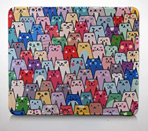 Giveaway: Anime Cat Computer Mouse Pad Cute Kitten Funny 12×10 Inches…