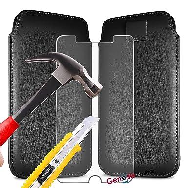 timeless design 3f329 e8e15 Black) Doro 8030 case Luxury Premium Quality PU Faux Leather ...