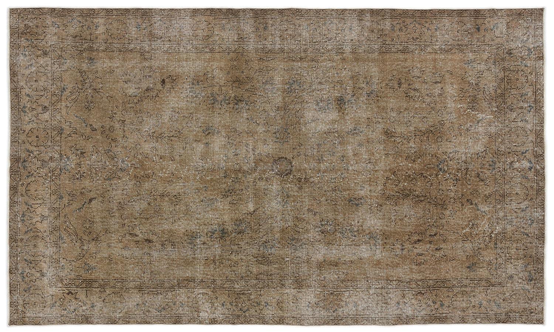 Bespoky ビンテージ 手織 ラグ 褐色 ミディアムサイズ 158 X 265 Cm   B07HKXTWTL