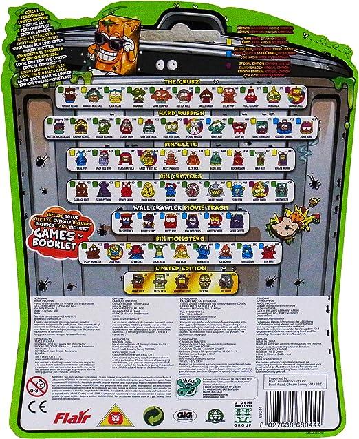 The Trash Pack Serie 3 - Blister con 5 figuras: Amazon.es: Juguetes y juegos