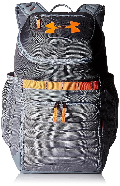 (アンダーアーマー) UNDER ARMOUR アンディナイアブル3.0 バックパック(バックパック/UNISEX)[1294721] B01MEHIVXL Rhino Gray/Magma Orange Rhino Gray/Magma Orange