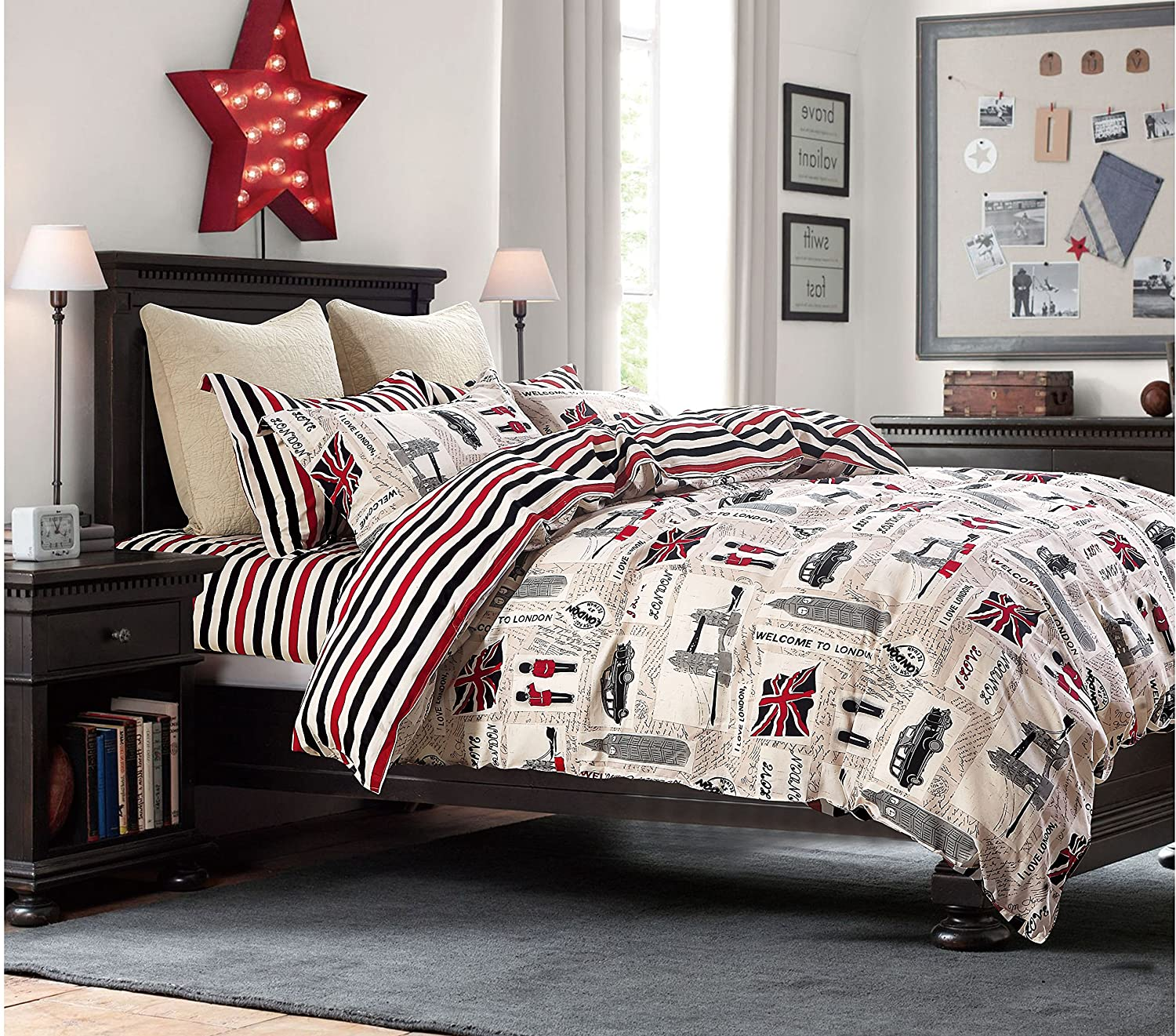 Cliab London Bedding Full Union Jack Flag Vintage