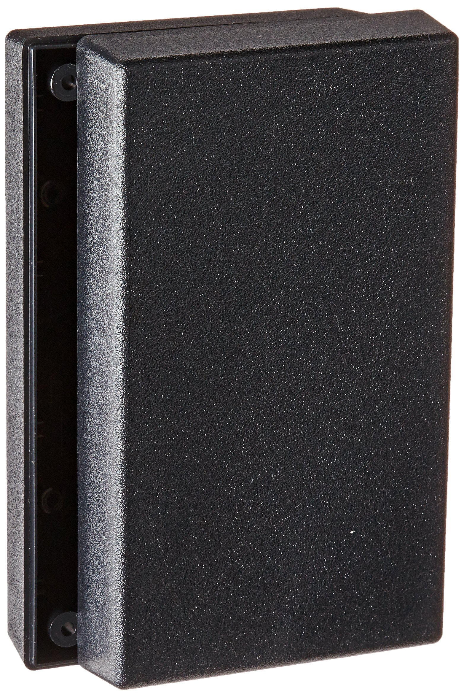 Serpac 151 ABS Plastic Enclosure, 5-5/8'' Length x 3-1/4'' Width x 1-1/2'' Height, Black