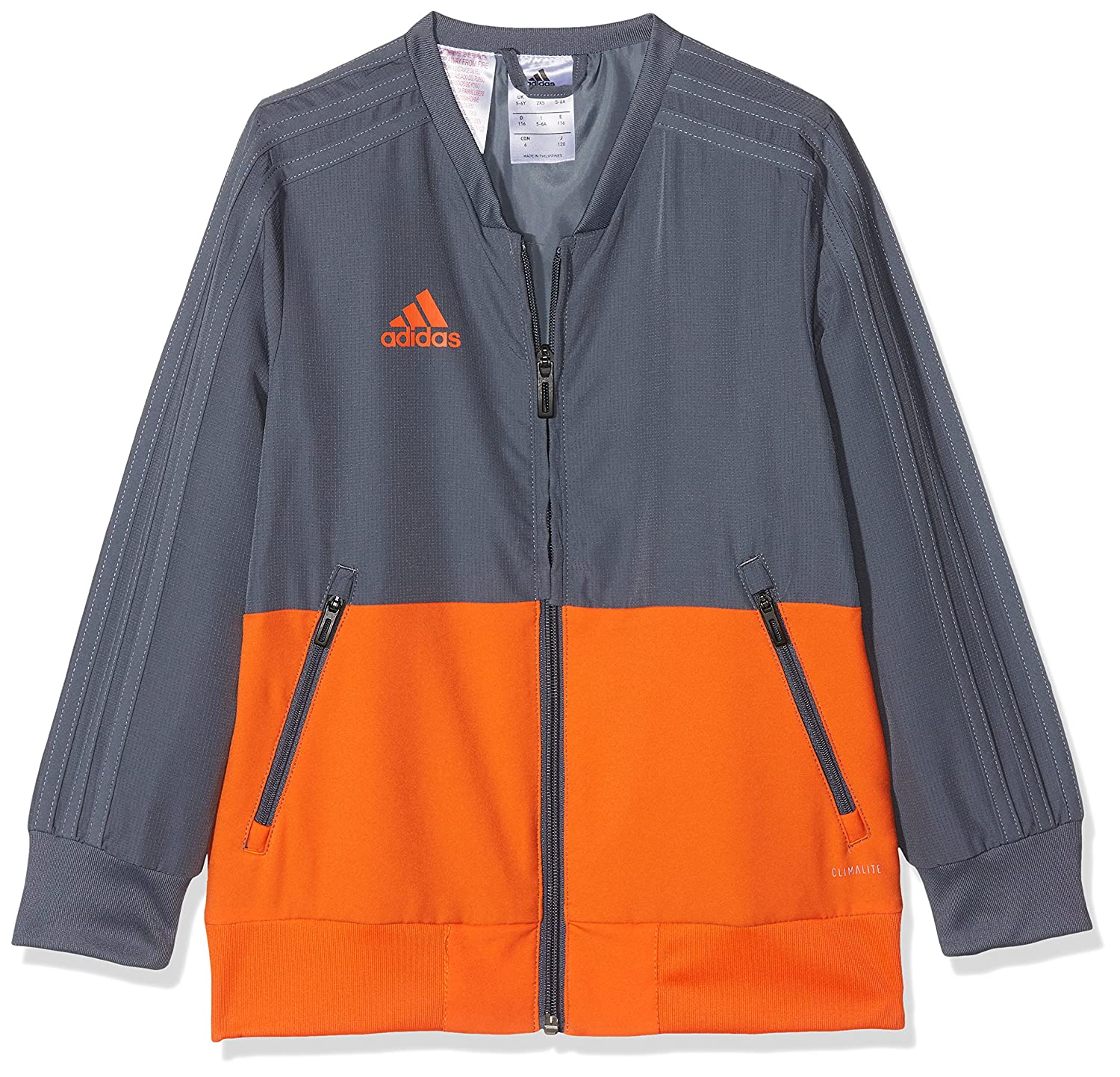adidas Condivo 18 Polyesterjacke Kids Weiss
