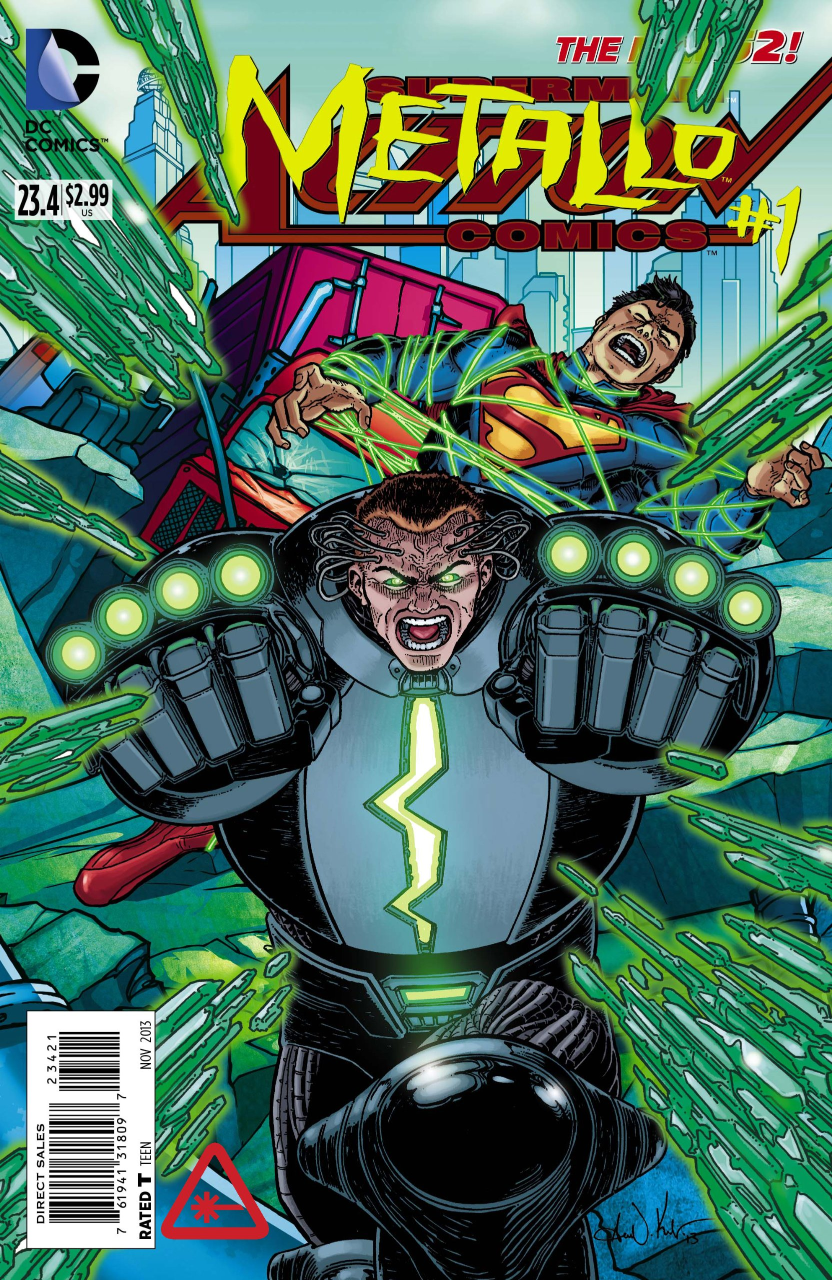 Download Action Comics #23.4 Metallo (3D Cover) pdf epub
