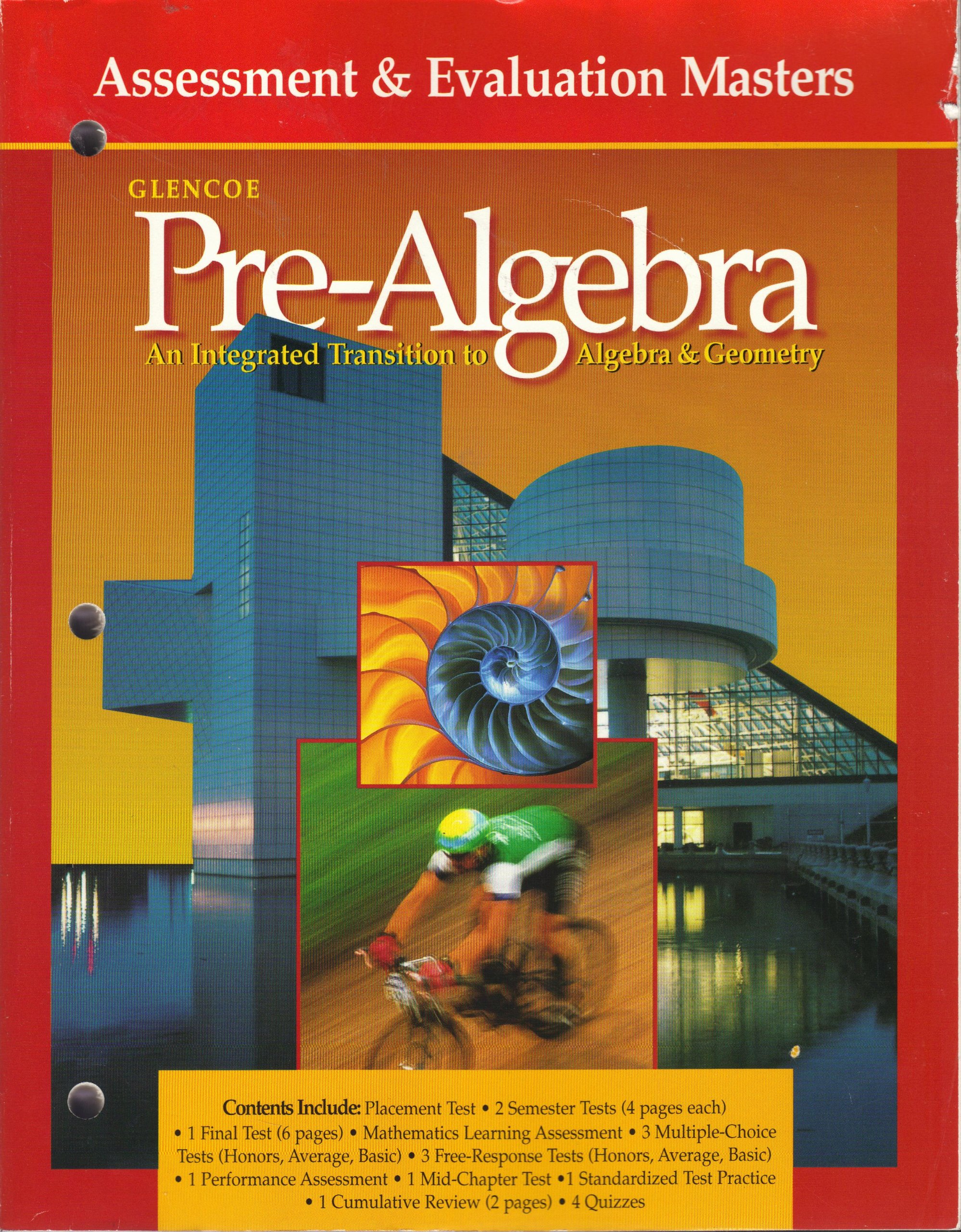 Glencoe Pre-Algebra: An Integrated Transition to Algebra & Geometry