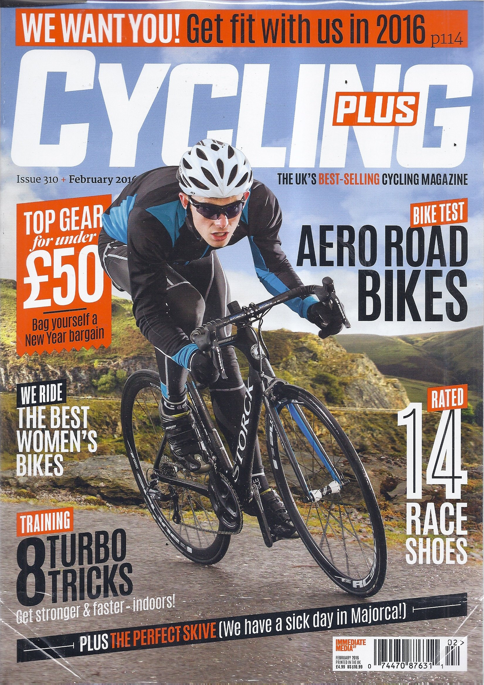 Download Cycling Plus Magazine (February 2016 - Includes Free Mag!) PDF