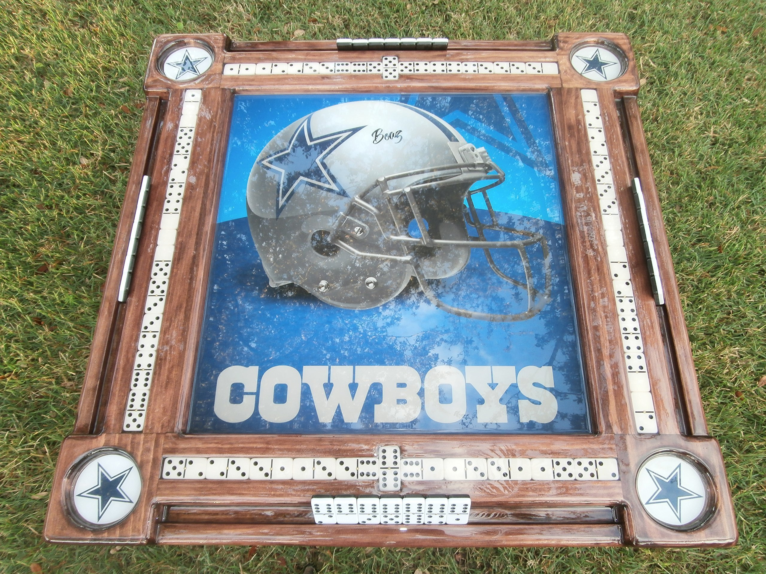 Dallas Cowboys Domino Table by Domino Tables by Art