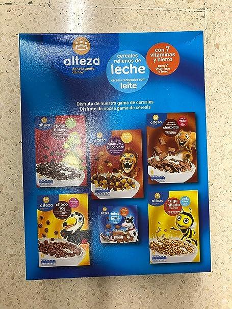 Cereales Chocolateados Con Leche Y Relleno De 7 Vitaminas Distintas Y De Hierro: Amazon.es: Alimentación y bebidas