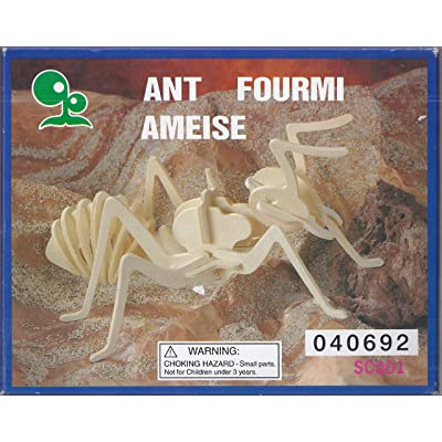 """ABC Products\"""" - 3-D ~ Insect Assembling - Skeleton Kit (Ant Model - Helps Kids Develop Coordination and Problem-Solving Skills): Toys & Games [5Bkhe2003070]"""