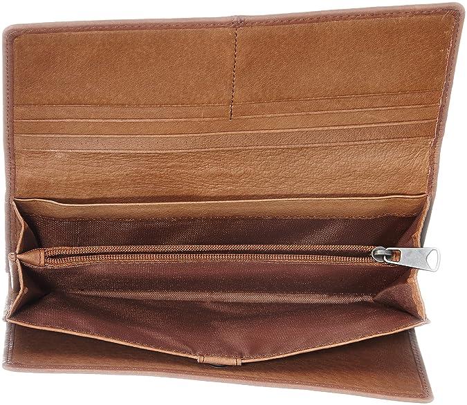 Liebeskind Berlin Vintage, Cartera para Mujer, Brandy, 19x10x3 cm: Amazon.es: Zapatos y complementos
