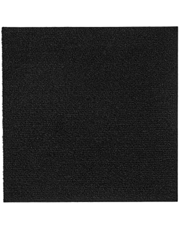Peel and Stick 12x12 Self Adhesive Carpet Tiles Do It Yourself (DIY) Ribbed Carpet