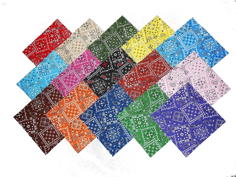 75 4 Beautiful Blazing Bandanna Charm Pack