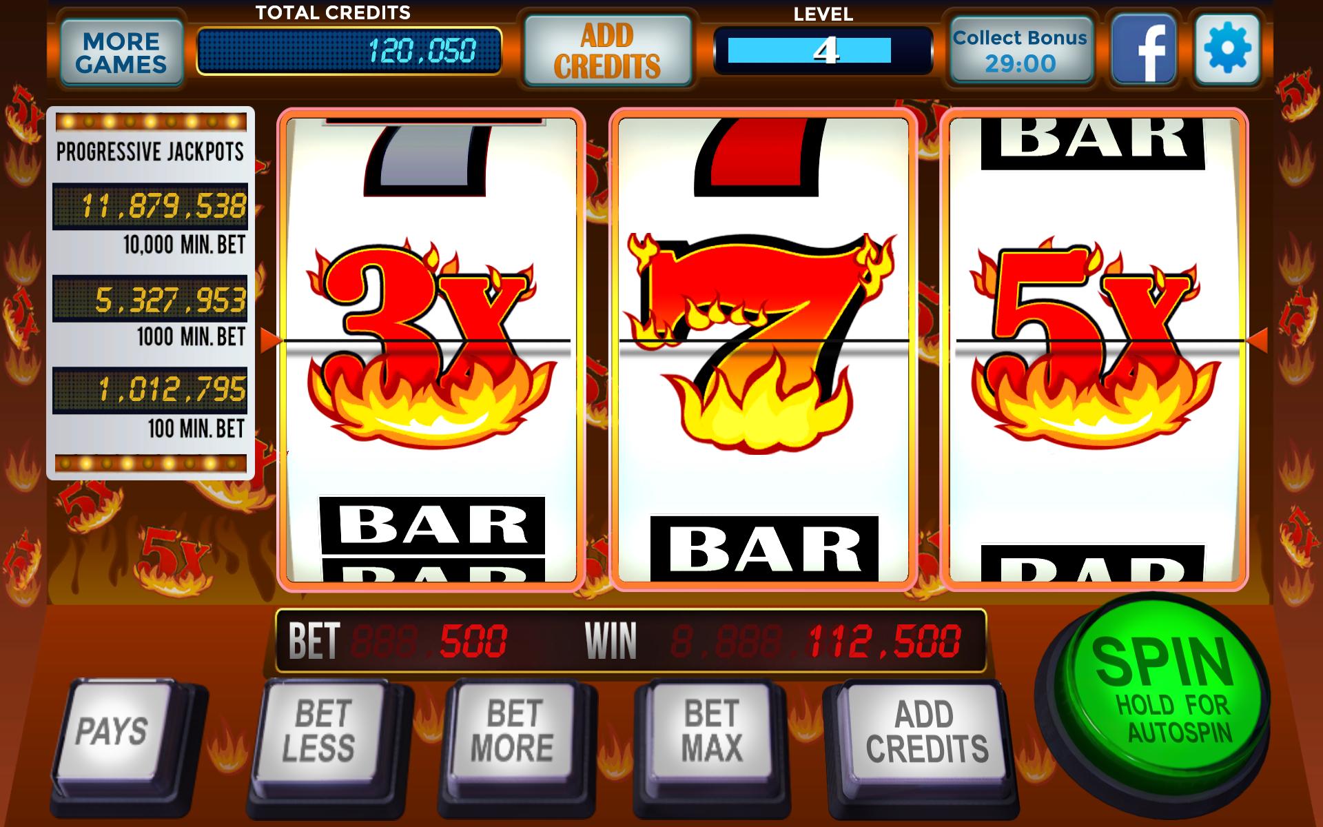 Amazon.com: 777 Hot Slots Casino - Real Vegas Classic Slot ...