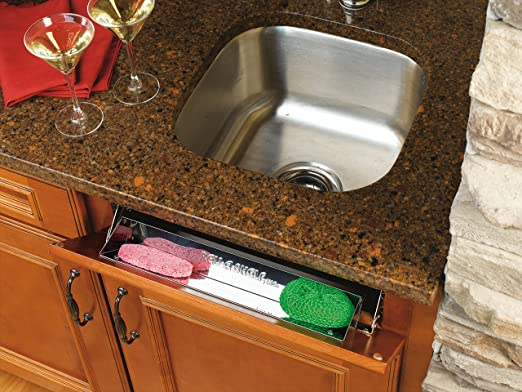 Set Of 2 with hinges Rev-A-Shelf 10 Stainless Steel Tip Out Tray Only