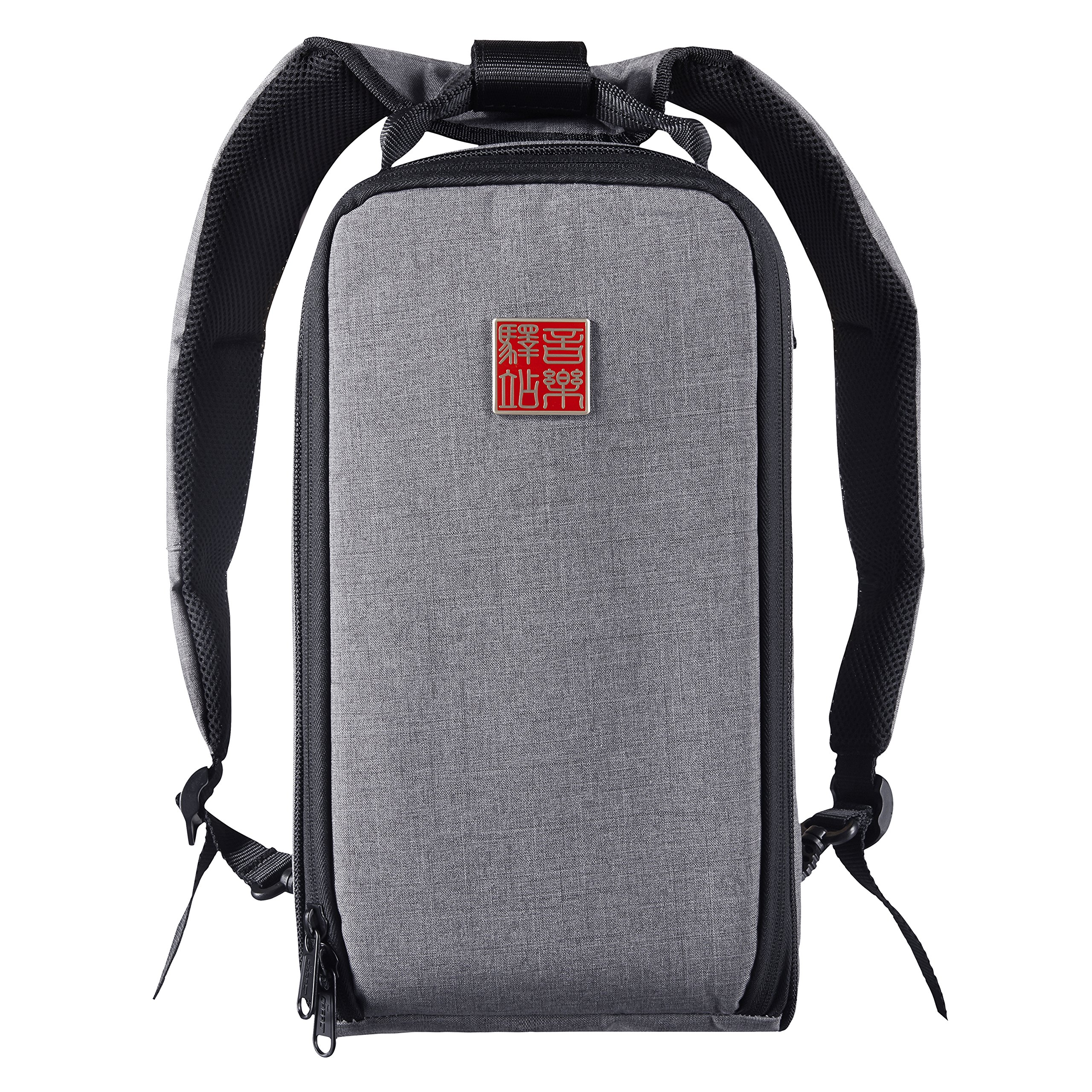 Music Area Guitar Effect Pedal Gig Bag Heat Insulated - Grey