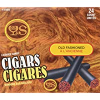 Y&S Licorice Cigars, 24 Count