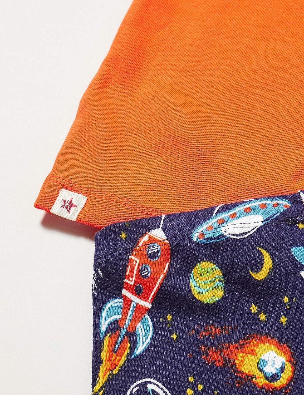 Hatley Organic Cotton Long Sleeve Appliqu/é Pyjama Sets Ensemble Gar/çon