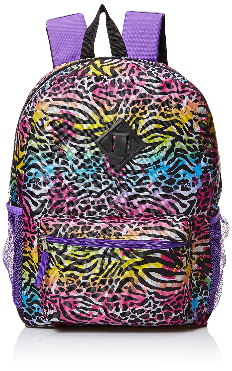 [アクセサリー 22]Accessories 22 Splatter Zebra 5pc Backpack Set, Multi 5PCBP12AZ [並行輸入品] One Size Multi B01D8RQCD0