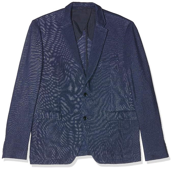 ESPRIT Collection 057eo2g006, Chaqueta de Traje Hombre, Azul ...