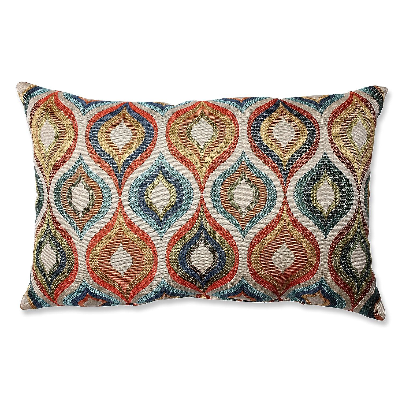 Amazon.com: Pillow Perfect Flicker Jewel Rectangular Throw Pillow ...