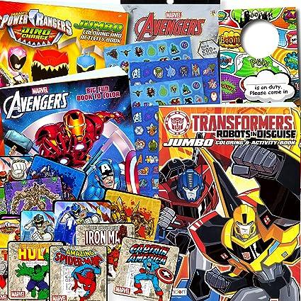 Amazon.com: Classic Superheroes Coloring Books Bundle: Toys ...