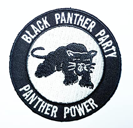 Amazon Black Panther Party Patch Symbol Jacket T Shirt Patch