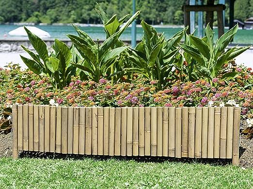 Windhager Borde para Parterre bambú Tipo 3, 35 x 100 cm: Amazon.es ...