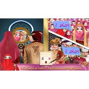 Hijab Girl Wedding - Arrange Marriage Rituals - Hijab Girl Makeup And Dress up Salon - Hijab doll salon For Girls Free Games of Dressup,Makeup,Spa: ...