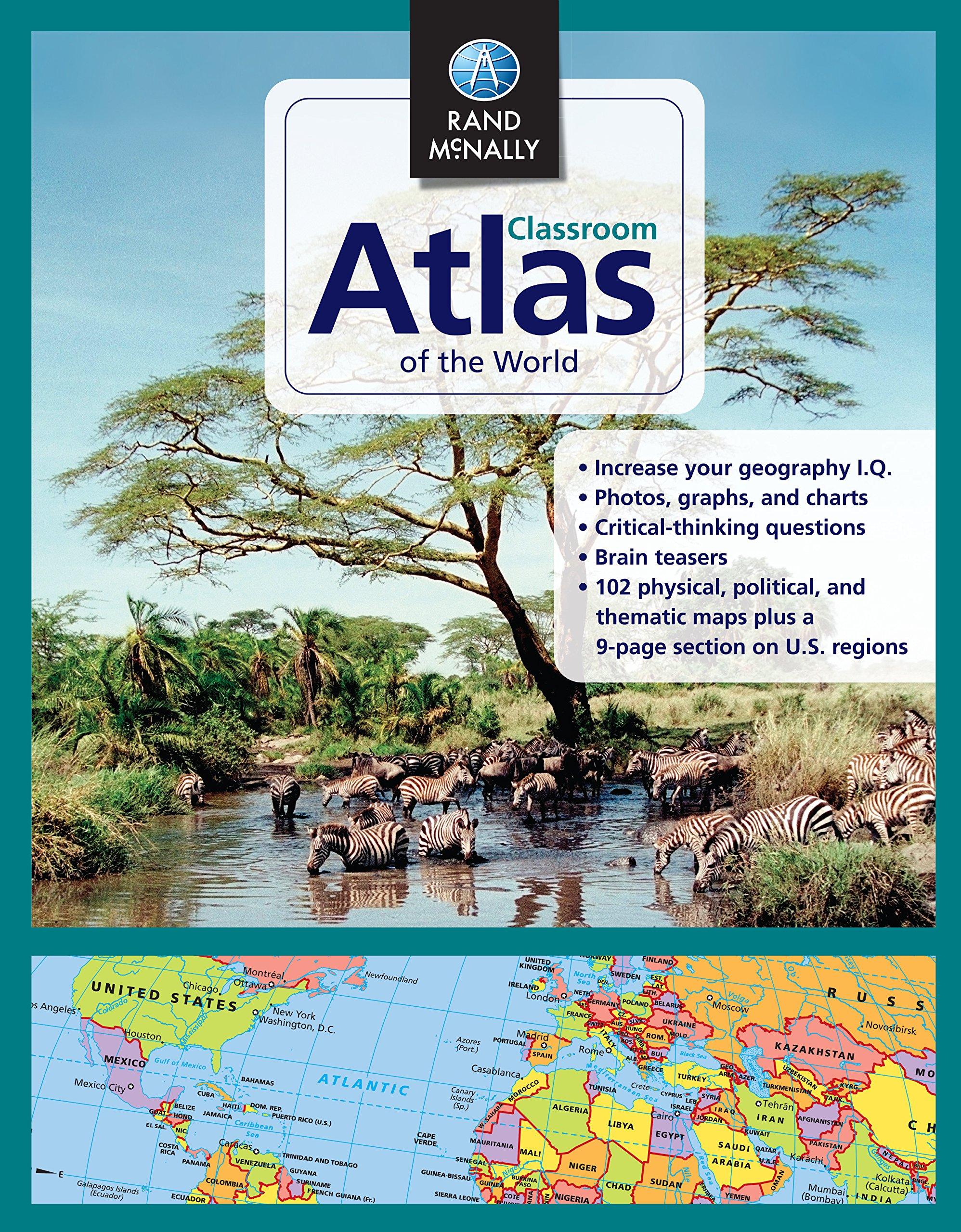 Rand McNally Classroom Atlas World