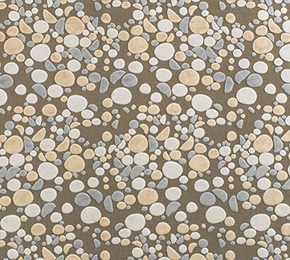 Amazon Com Grey Slate Marqueyssac Upholstery Pebble Fabric By Yard