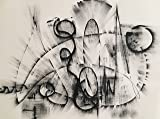 Black and White Abstract Drawing #7