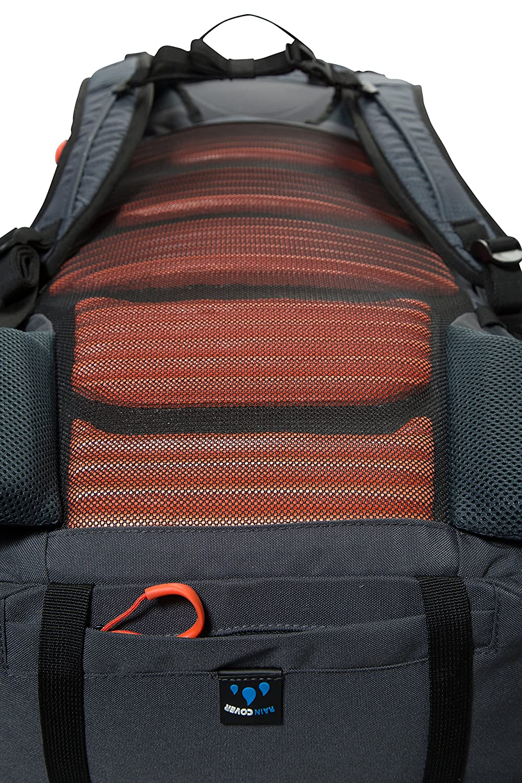 Mountain Warehouse Inca Extreme 80 litros de Mochila Poliester Durable Ripstop Daysack con la Cubierta de la Lluvia petate Hardwearing