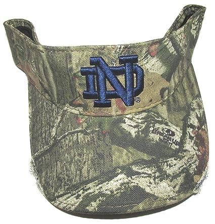 Amazon.com   Notre Dame Camouflage Visor   Sports   Outdoors 7d411b1d3d0