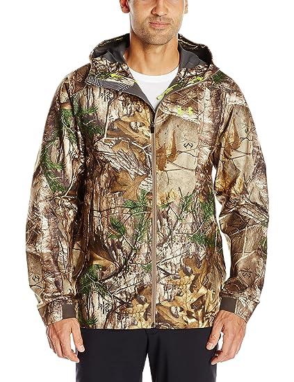 cc059dc6ff168 Under Armour Men's Storm Gore-Tex Essential Rain Jacket, Small, Realtree AP-