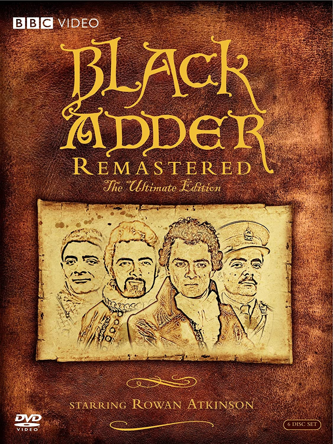 Black Adder: Remastered - The Ultimate Edition Rowan Atkinson Brian Blessed Elspet Gray Tim McInnerny