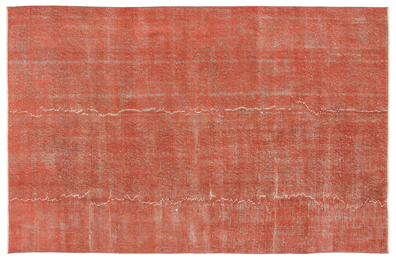 Bespoky ビンテージ 手織 ラグ 赤 ミディアムサイズ 163 X 251 Cm   B07HL7361P