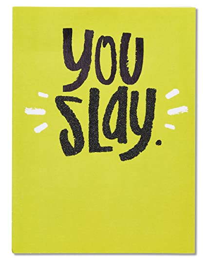 Amazon american greetings funny slay fathers day card with american greetings funny slay fathers day card with glitter m4hsunfo