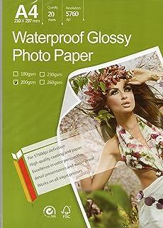 Ultrafine Horizon Inkjet Paper GLOSSY 10 mil 260g 17 x 22 x 20 for Epson,Canon